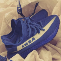 IKEA Blue Yeezy Boost 350 V2 breaks the internet!