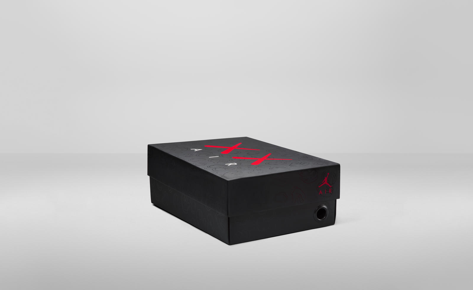 KAWS Jordan 4 RETRO Box Packaging