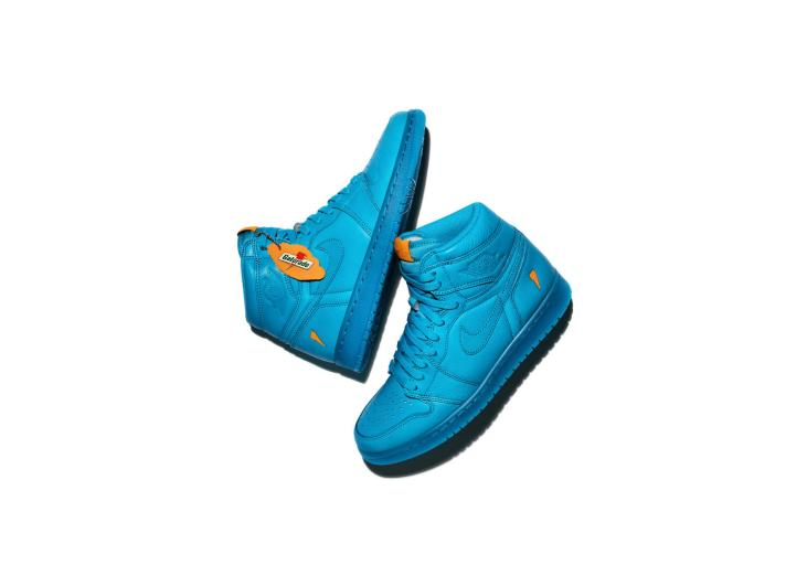 Air Jordan I OG High Gatorade Collection Cool Blue