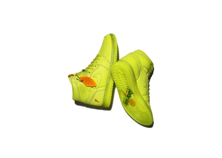 Air Jordan I OG High Gatorade Collection Lemon Lime