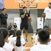 Jr. NBA All Star Thirdy Ravena inspires newest batch of Jr. NBA aspirants