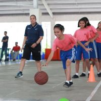 Jr. NBA Philippines 2019 Trains More than 3,000 Kids in Cavite Clinic