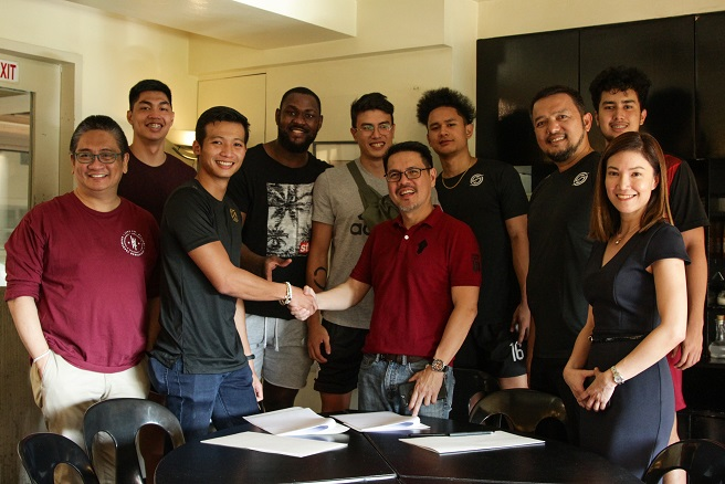 UPMBT-STATS Contract Signing